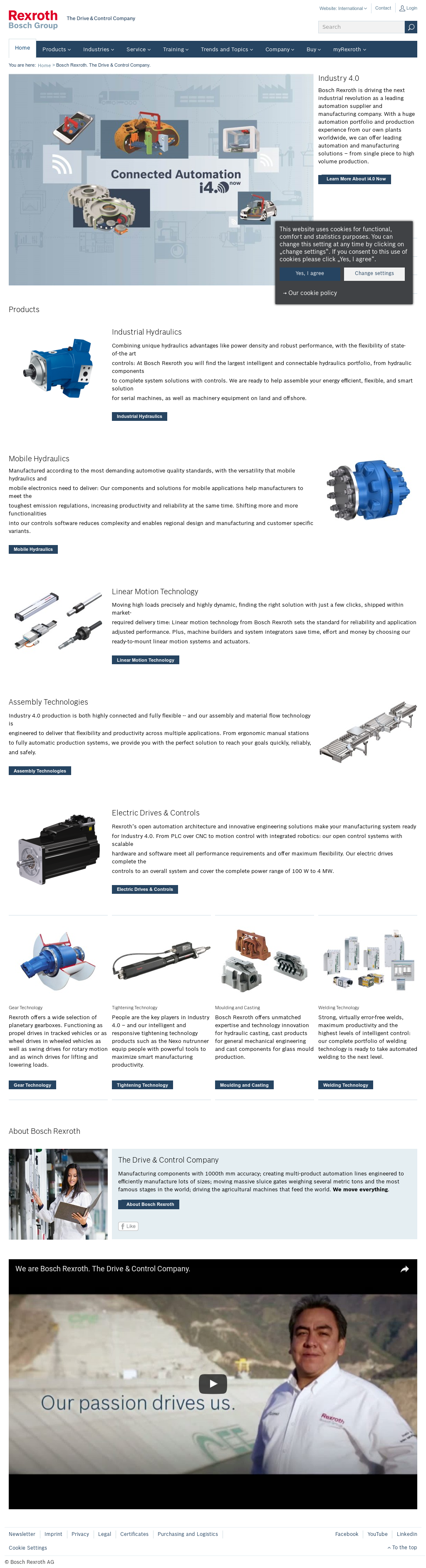 Bosch Rexroth Competitors, Revenue and Employees - Owler Company Profile