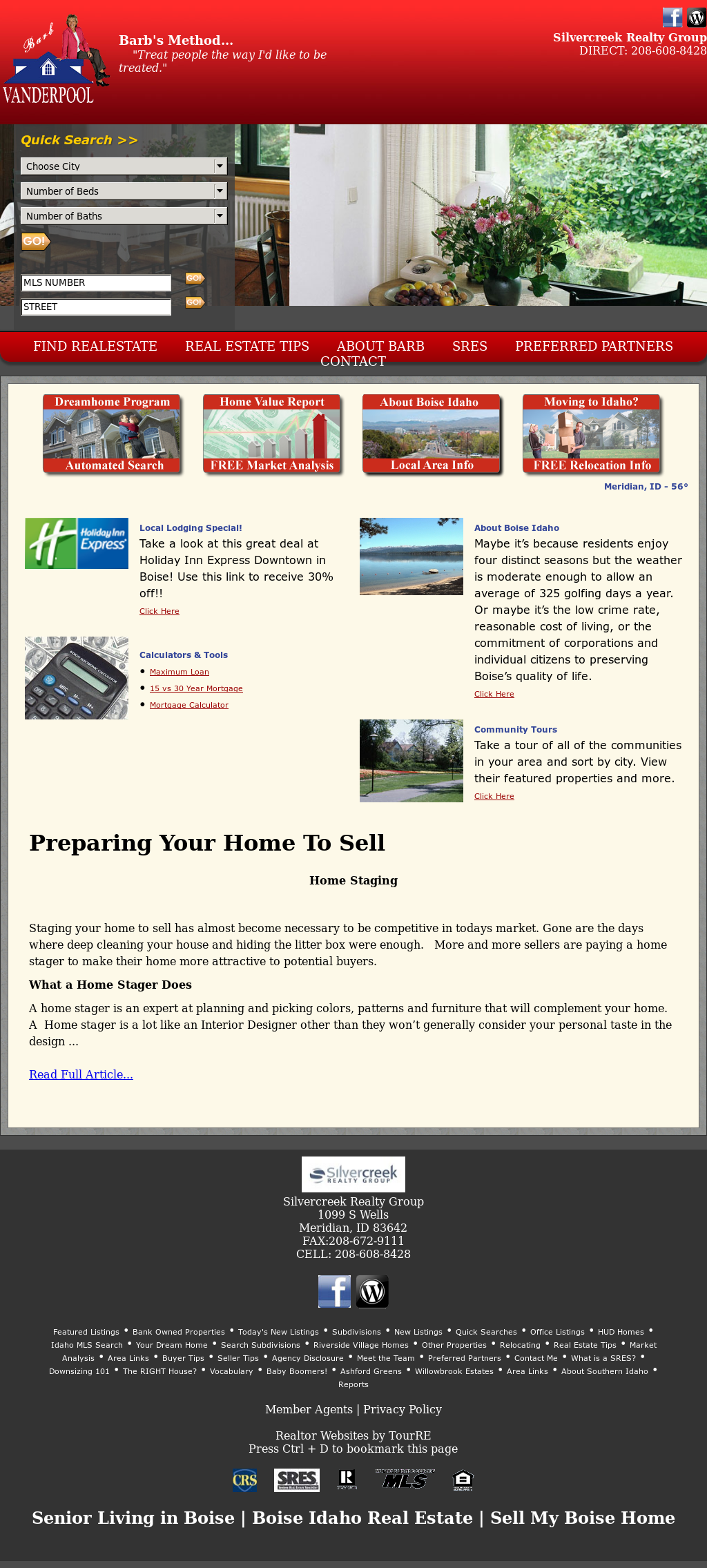 Barb Vanderpool: Boise Real Estate Competitors, Revenue and