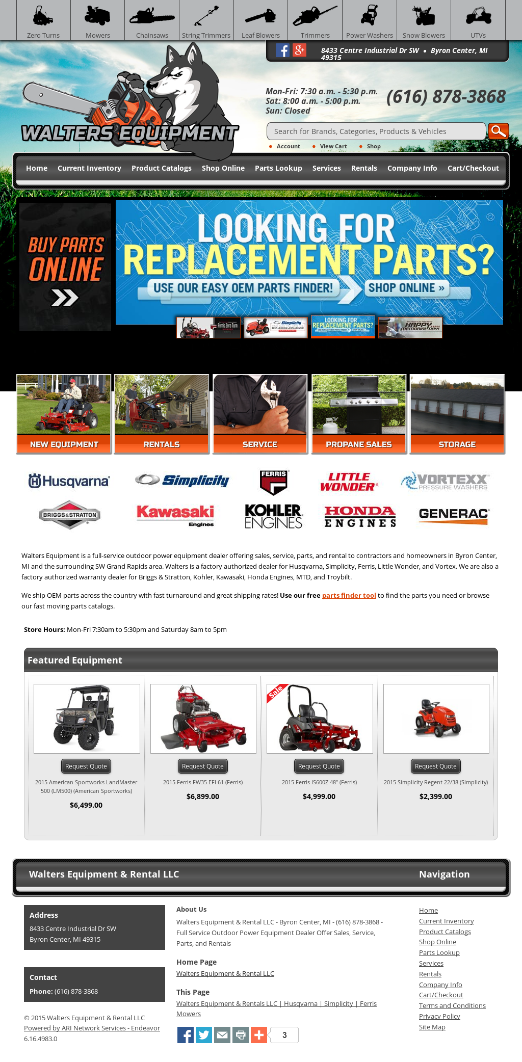Walters Equipment & Rental Competitors, Revenue and Employees