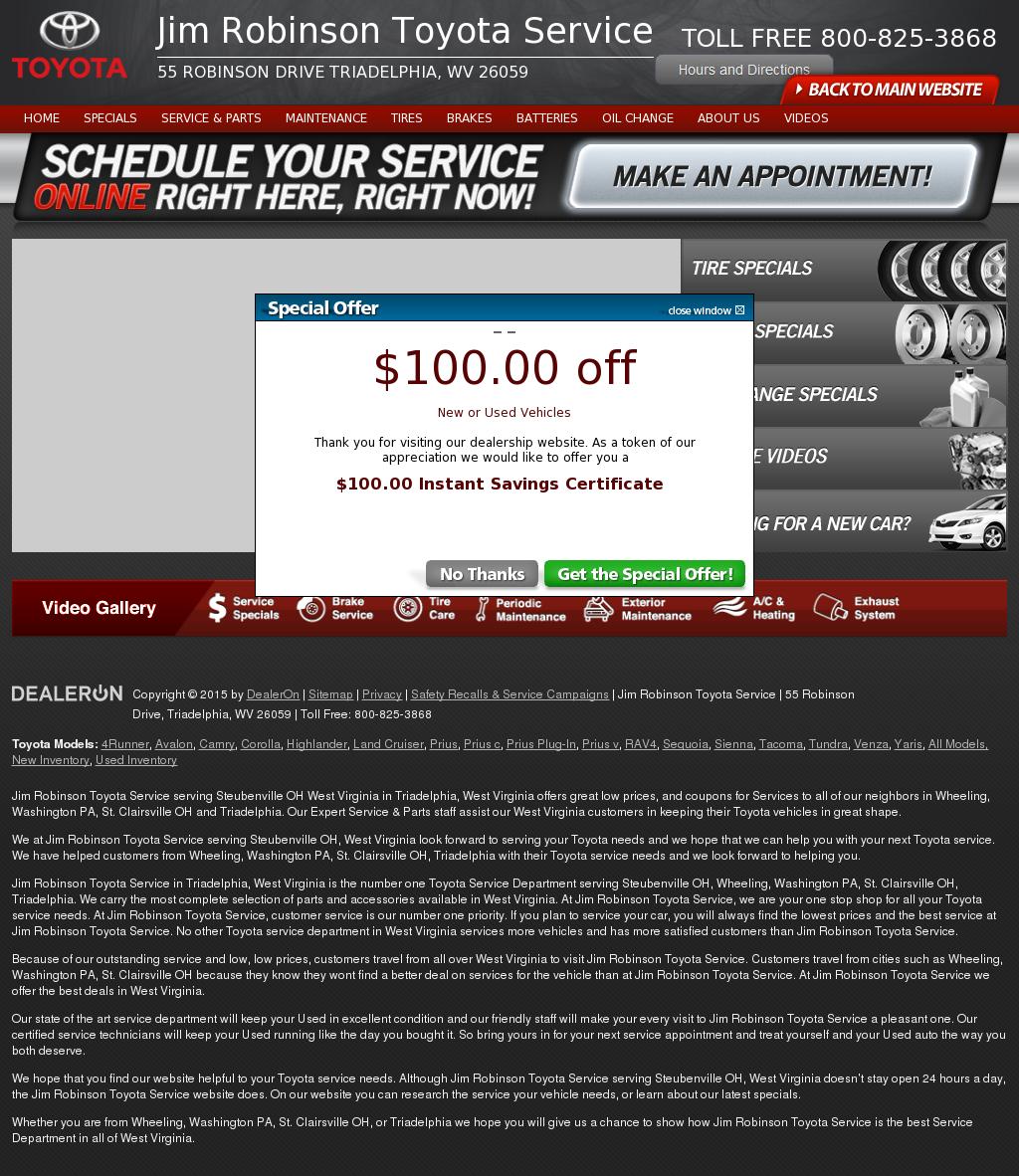 Jim Robinson Toyota >> Jim Robinson Toyota Service Competitors Revenue And Employees