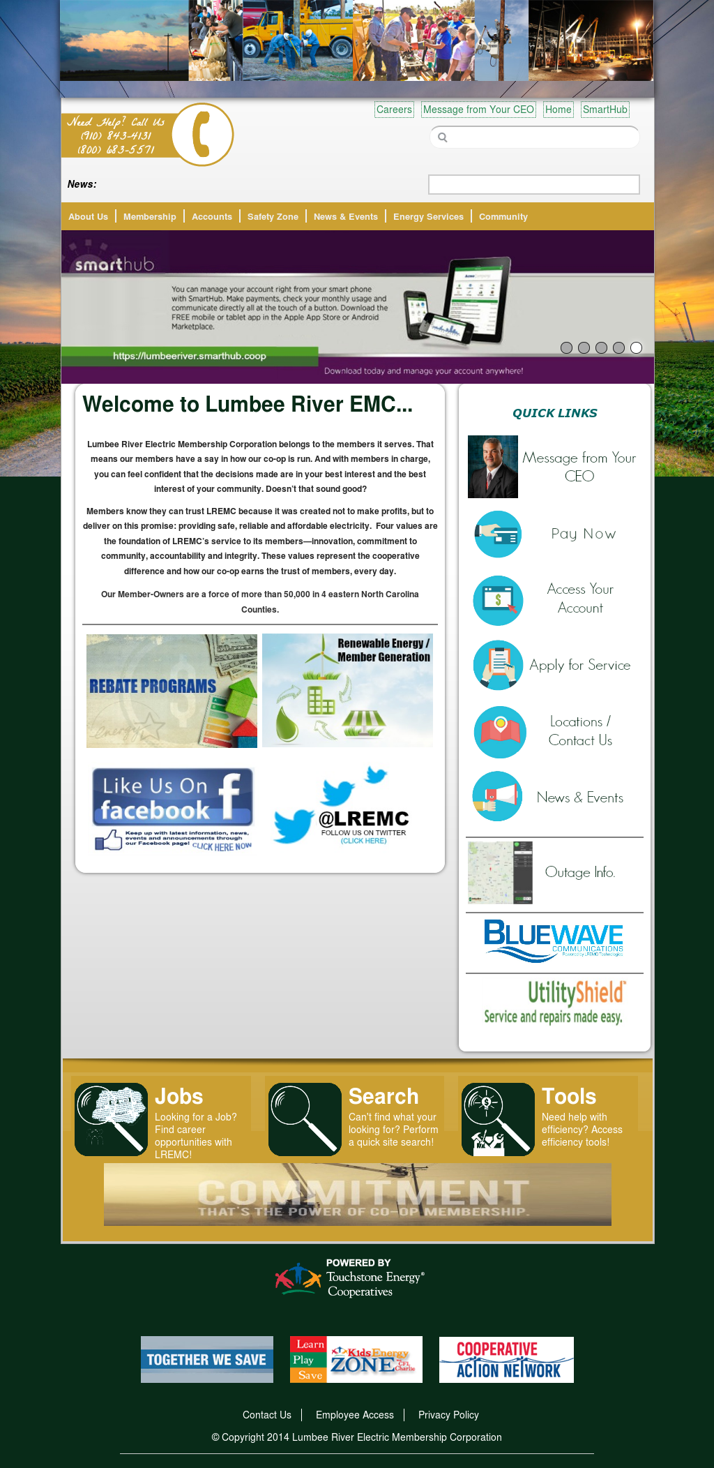 lumbee river smart hub