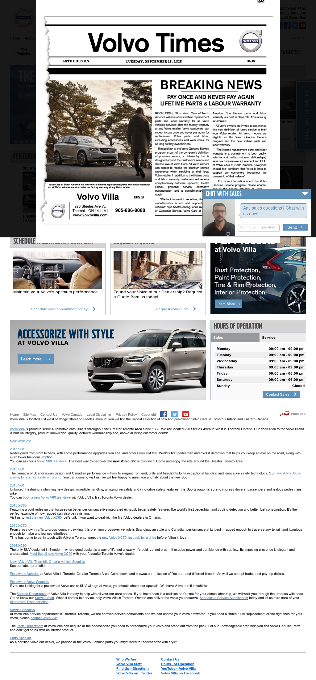 Volvo Villa Competitors, Revenue and Employees - Owler