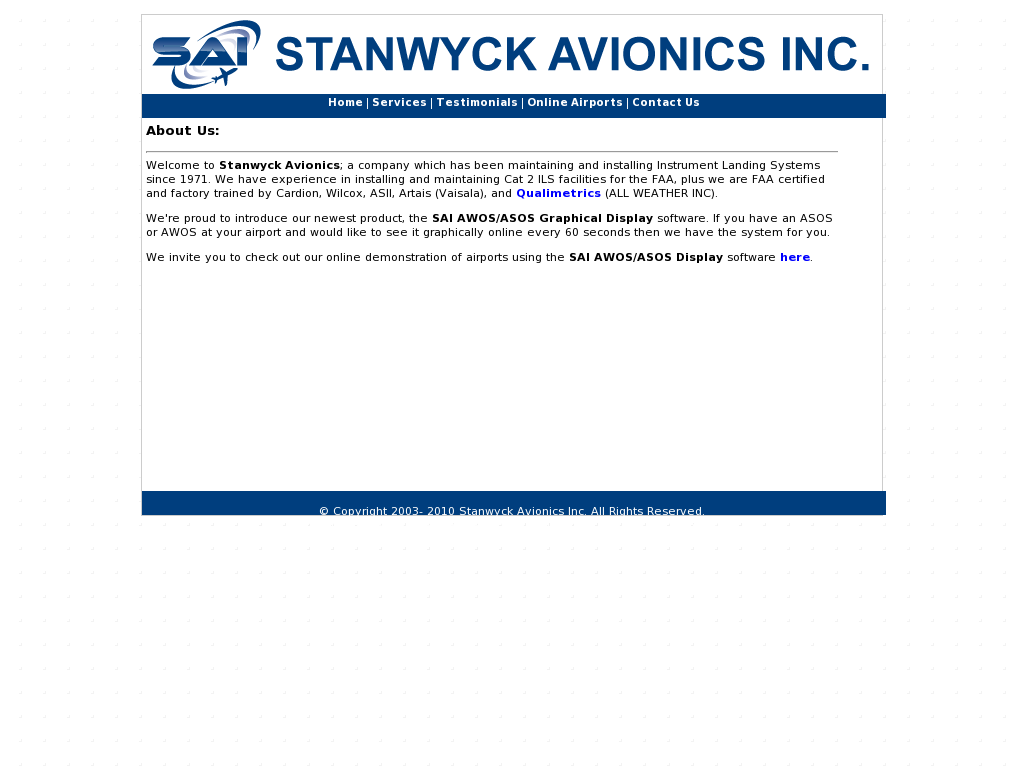 Stanwyck Avionics Competitors Revenue And Employees