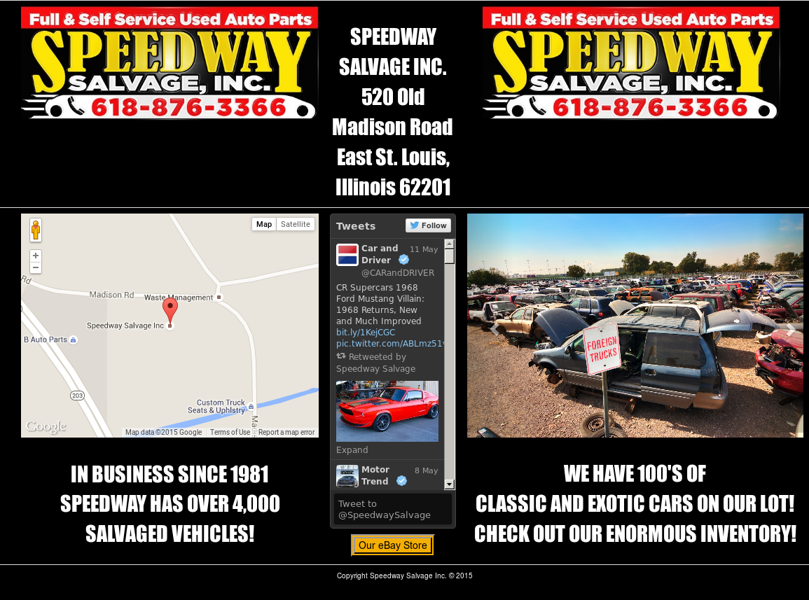 Speedway Auto Salvage >> Speedway Salvage Competitors Revenue And Employees Owler