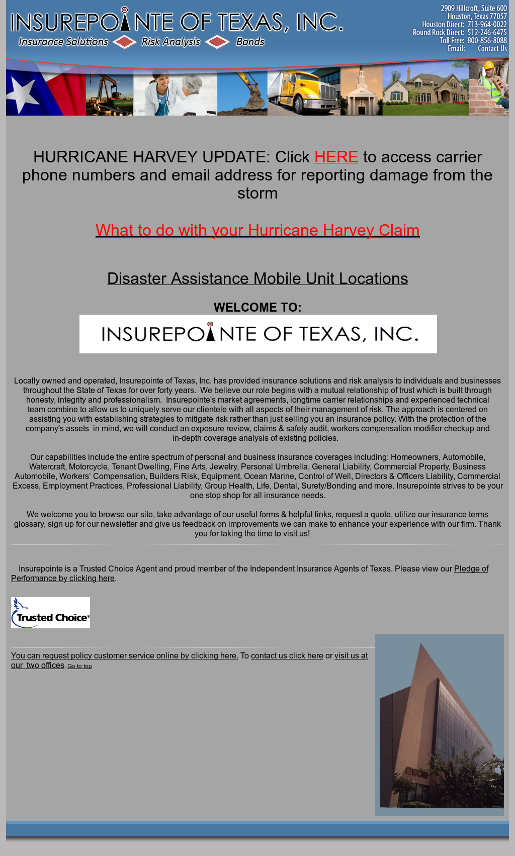 Insurepointe Of Texas Competitors, Revenue and Employees