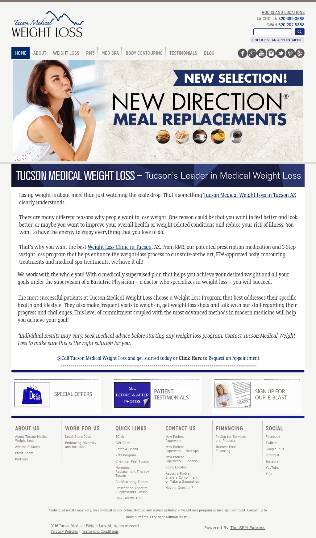 Tucson Medical Weight Loss Competitors Revenue And Employees