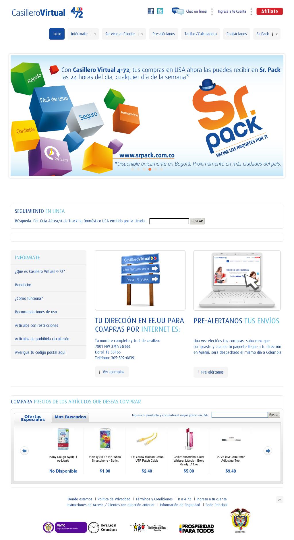 Casillero Virtual 4-72 Competitors, Revenue and Employees
