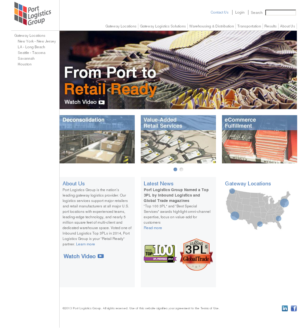 Port Logistics Group Competitors, Revenue and Employees