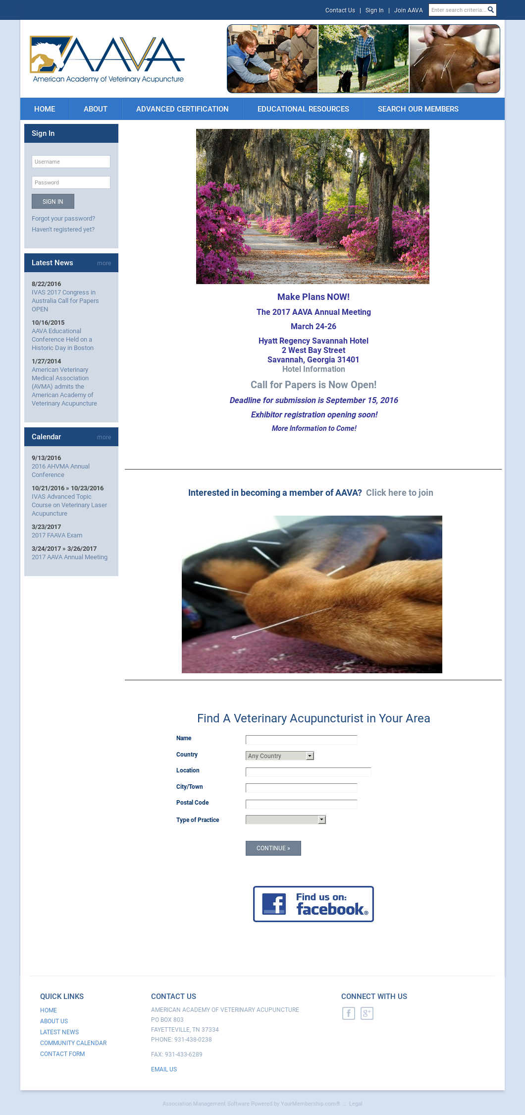 American Academy Of Veterinary Acupuncture Competitors