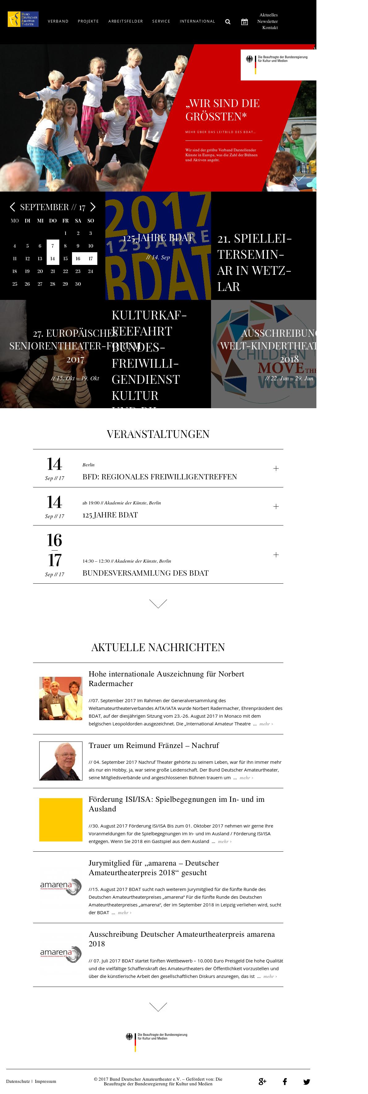 Bund Deutscher Amateurtheater (Bdat) Competitors, Revenue and ...