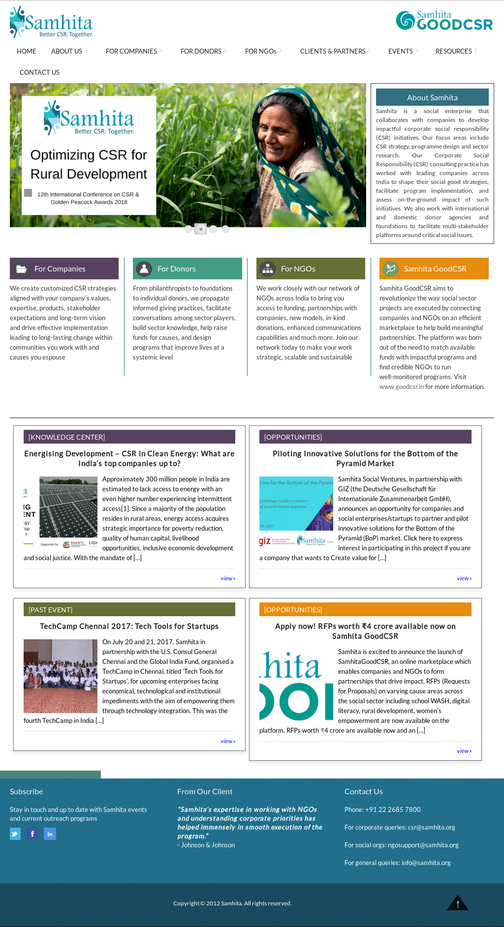 Samhita Competitors, Revenue and Employees - Owler Company Profile