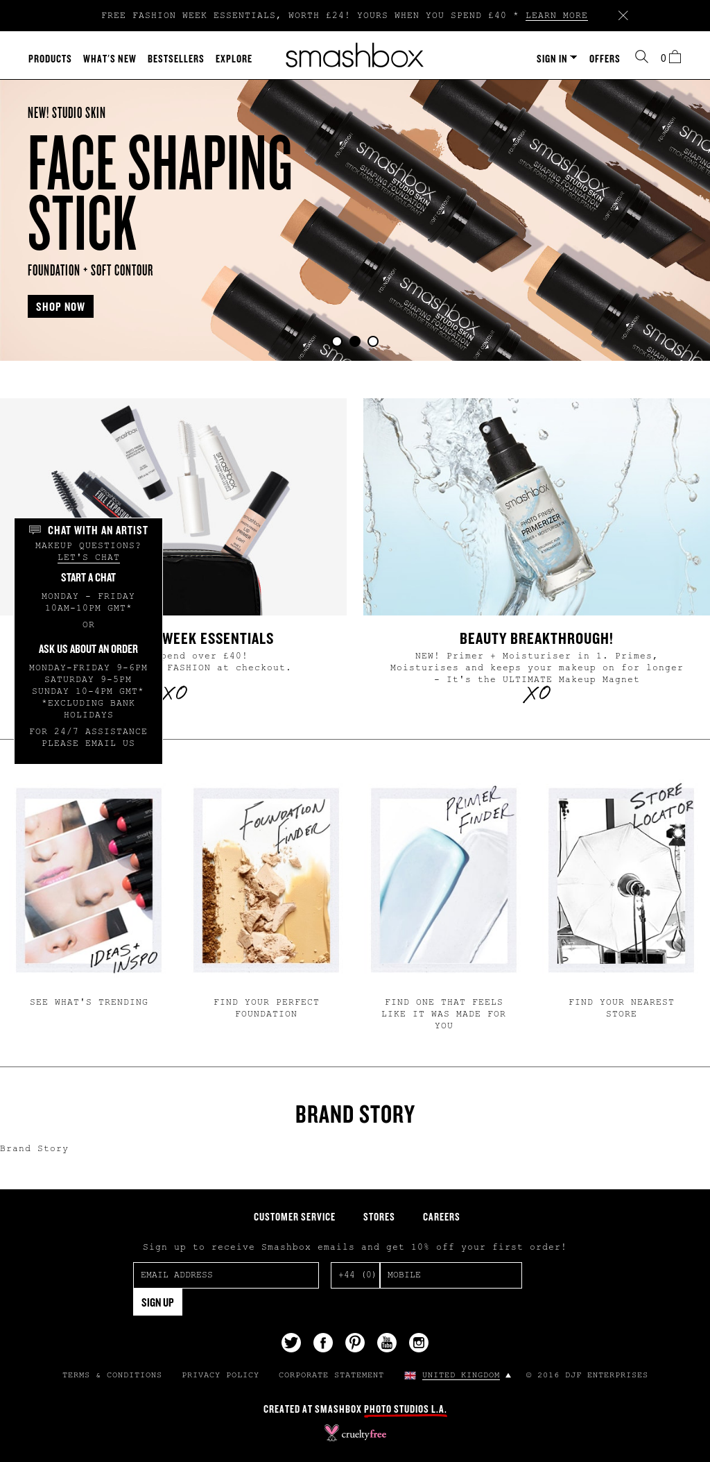 Smashbox Cosmetics Uk Competitors, Revenue and Employees - Owler