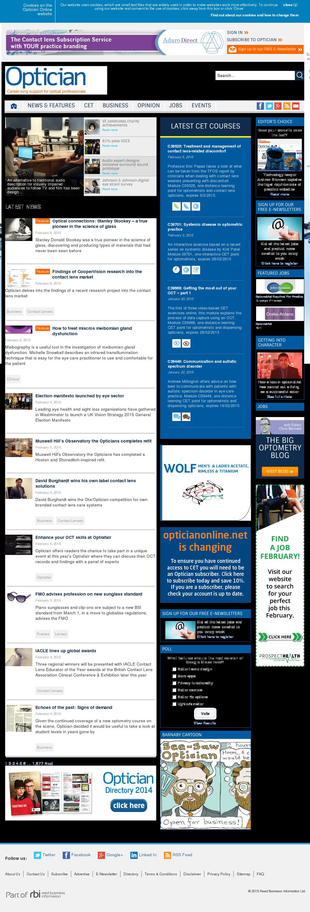 Optician Competitors, Revenue and Employees - Owler Company Profile
