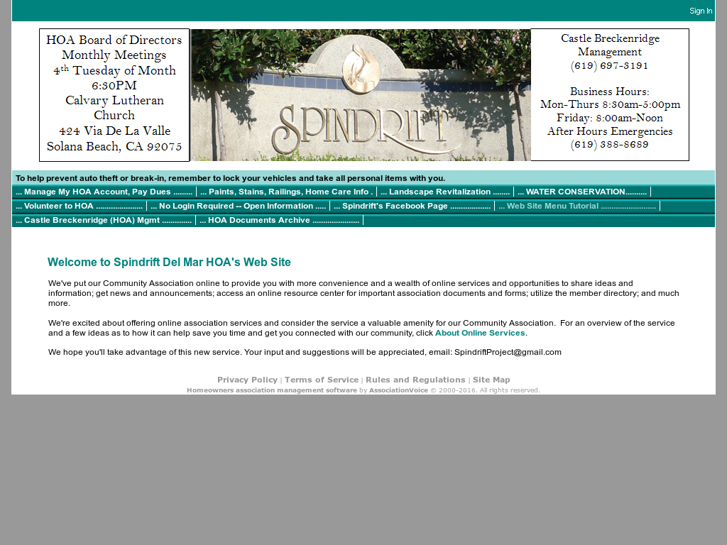 Spindrift Del Mar Hoa Competitors, Revenue and Employees