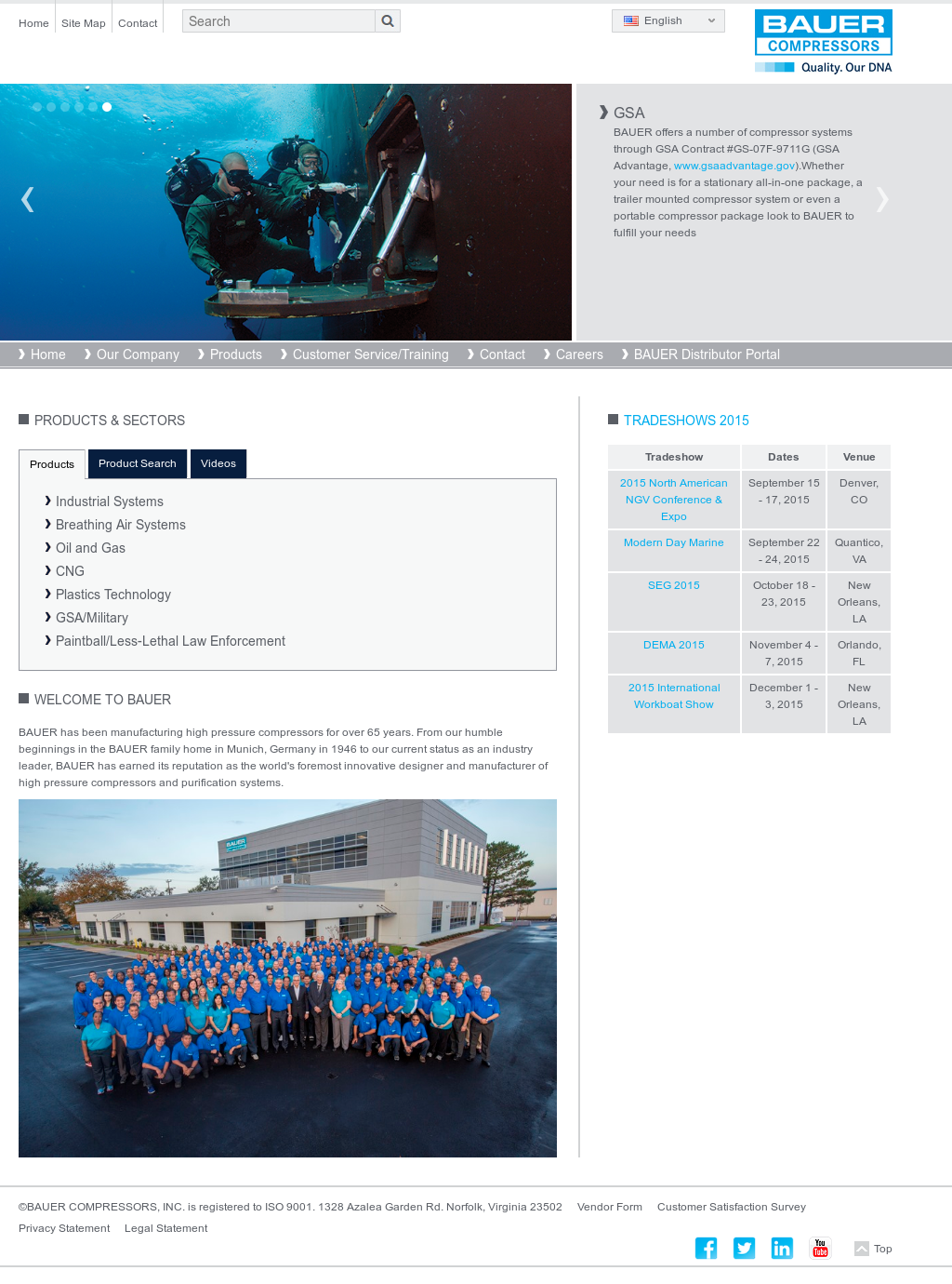 Bauer Compressors Competitors, Revenue and Employees - Owler