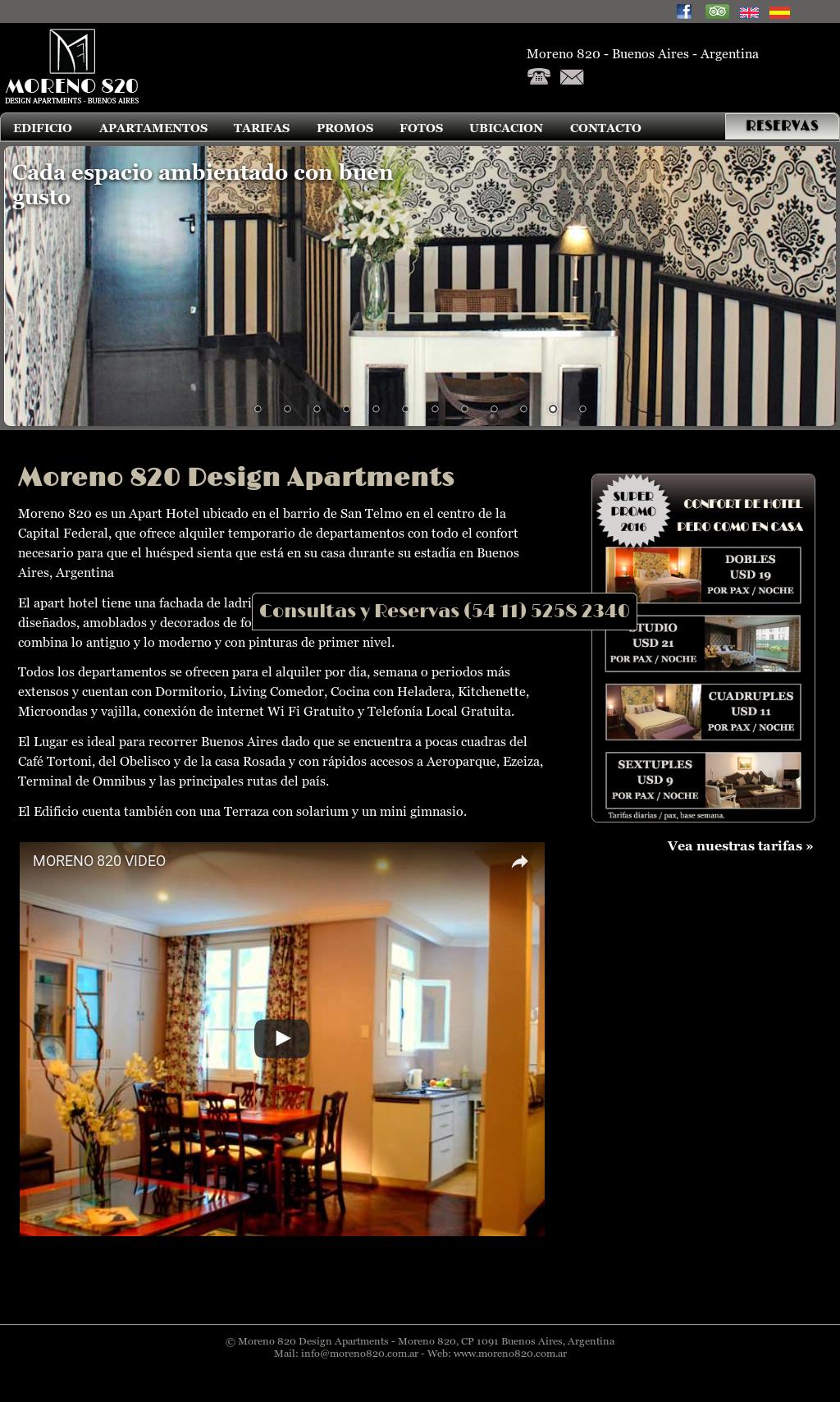 Moreno 820 Design Apartments Competitors Revenue And