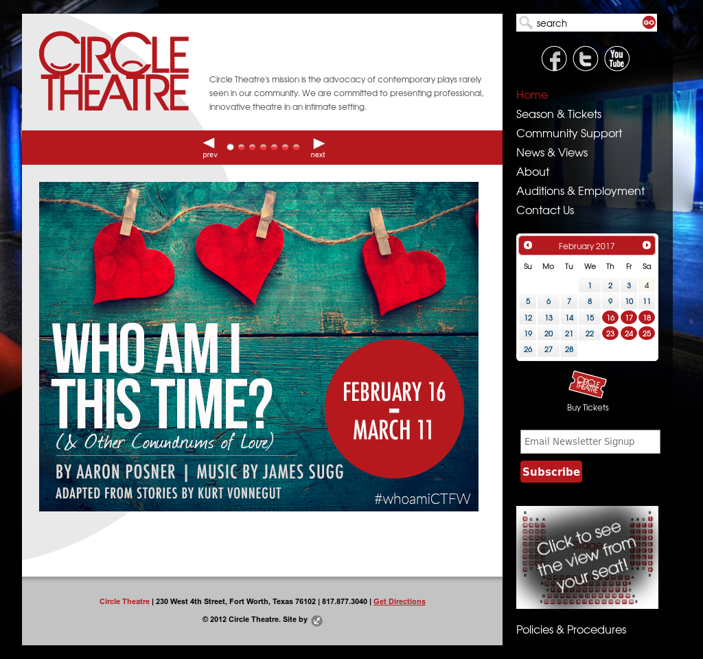 Circle Theatre Competitors, Revenue and Employees - Owler