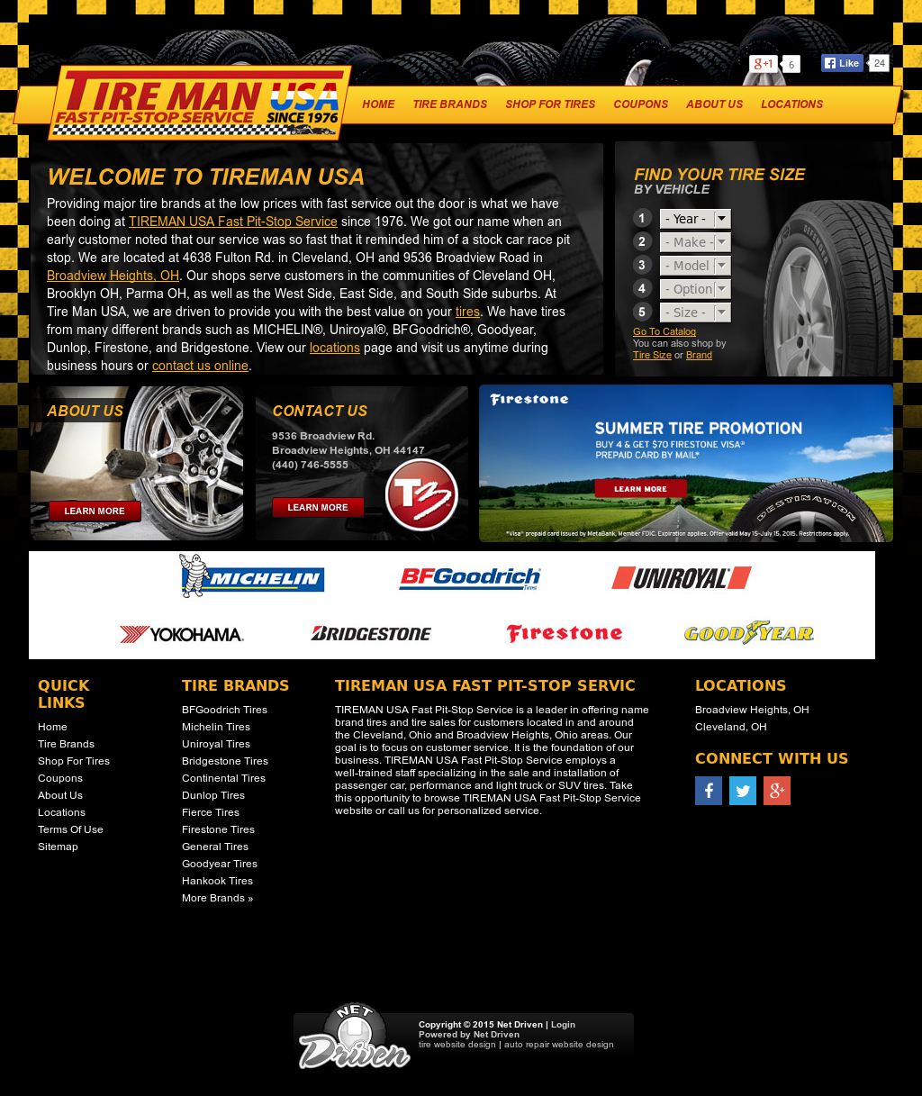 Tire Man Usa Fast Pit Stop Service Competitors Revenue And