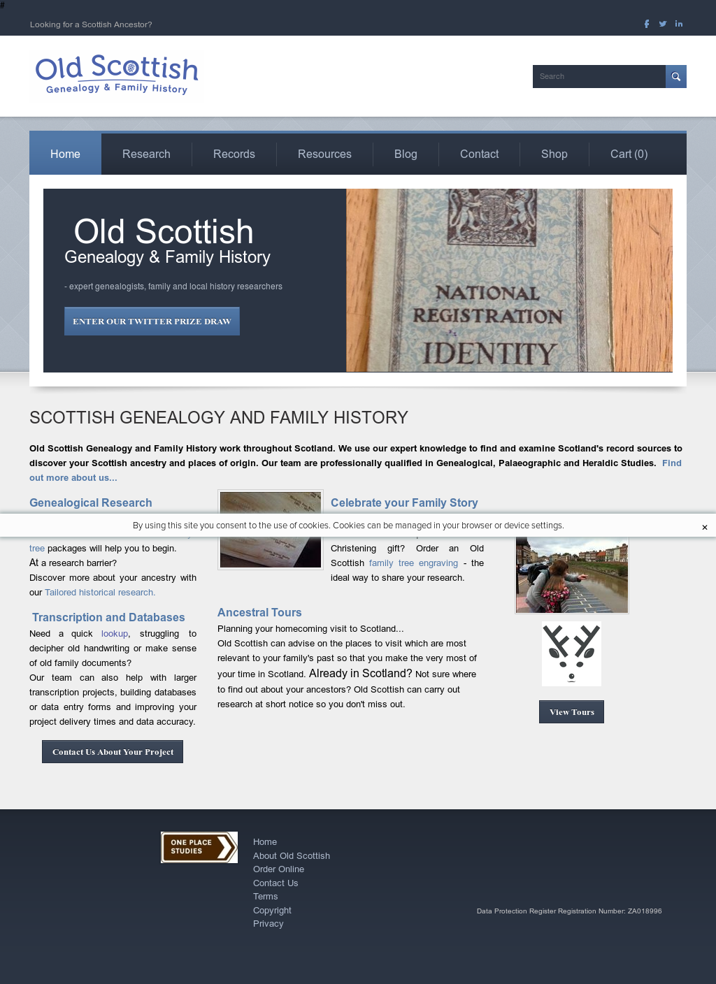 Old Scottish Genealogy And Family History Competitors