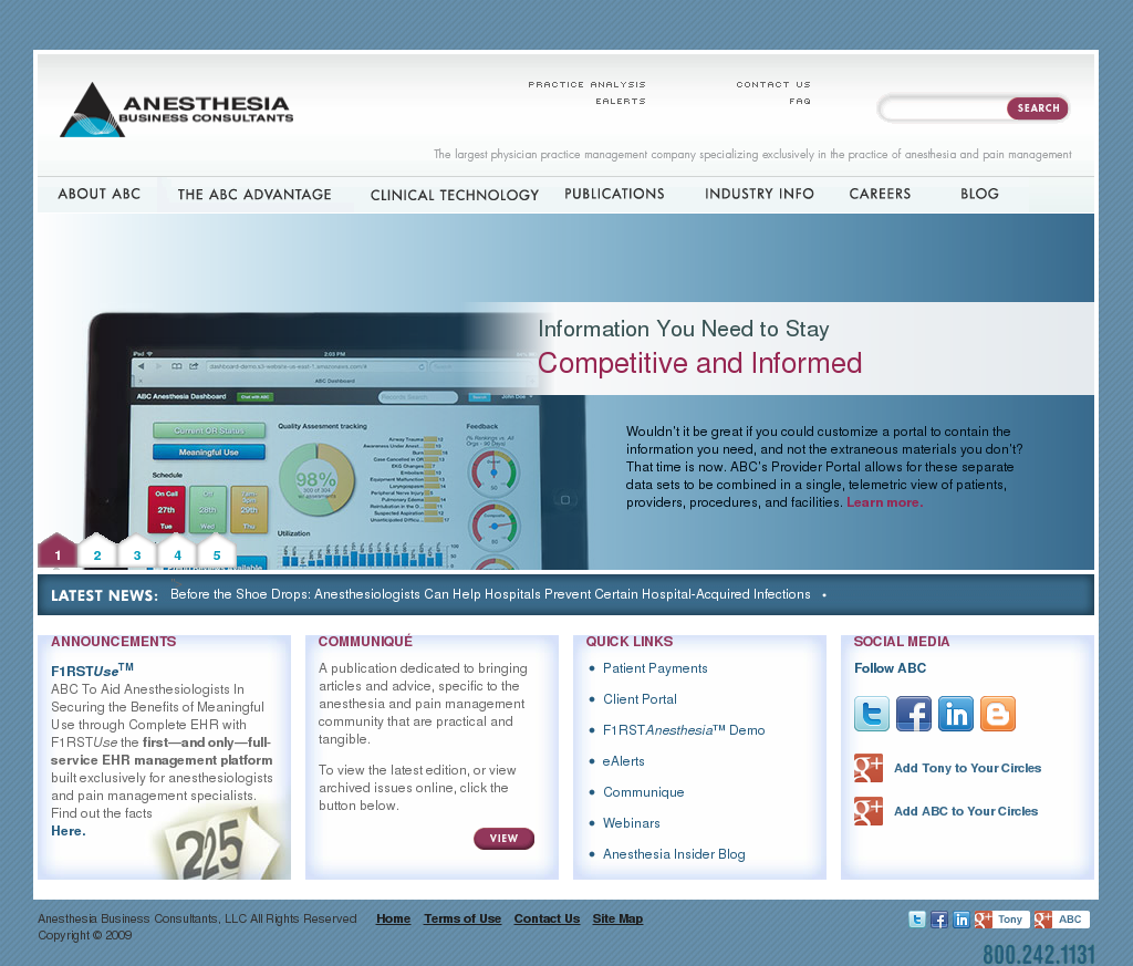 Anesthesia Business Consultants Competitors Revenue And Employees
