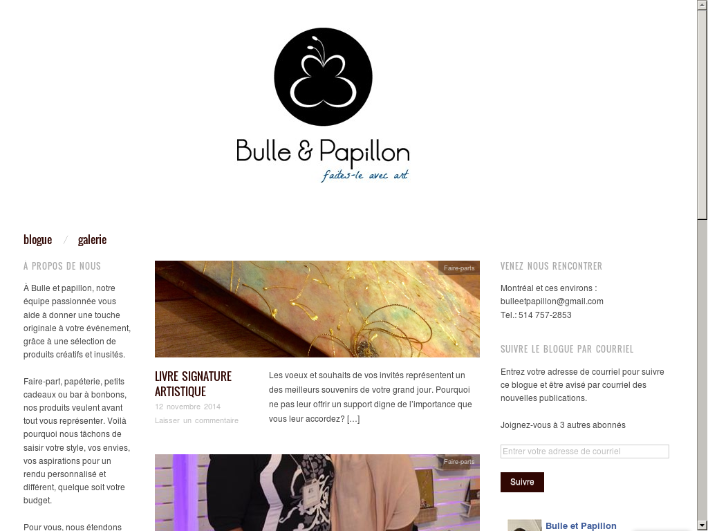 Bulle Et Papillon Competitors, Revenue and Employees - Owler Company