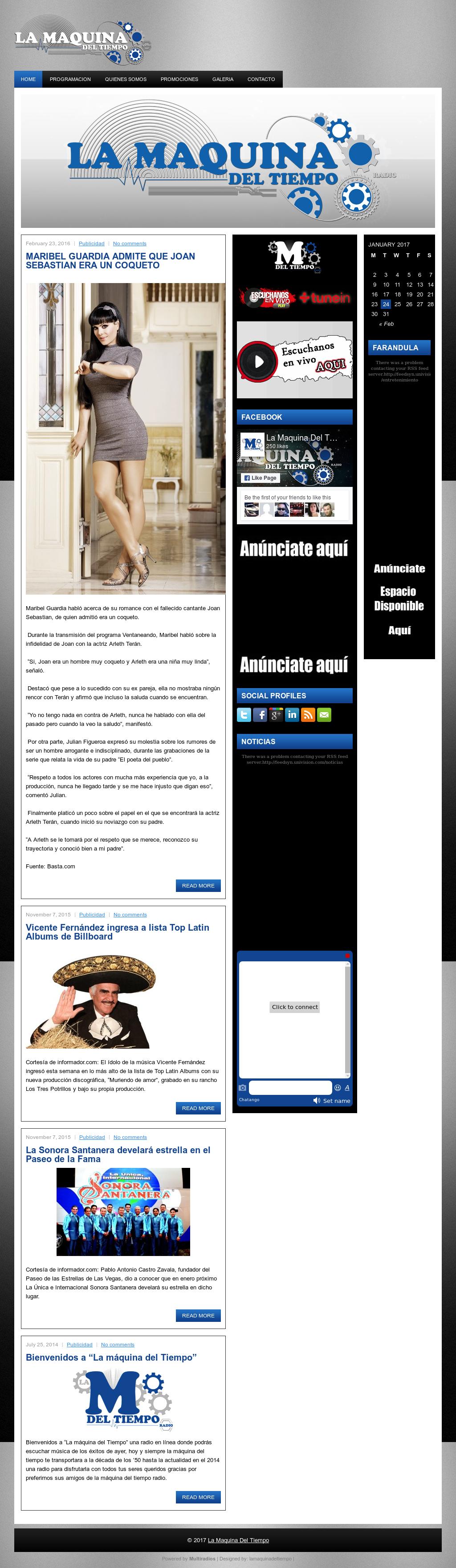 La Maquina Del Tiempo Competitors, Revenue and Employees