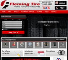 Fleming's Auto Service website history