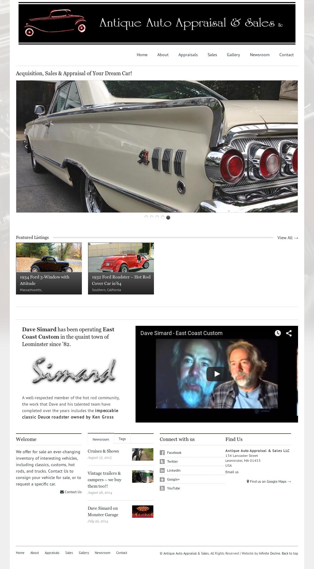Antique Auto Appraisal & Sales Competitors, Revenue and Employees ...