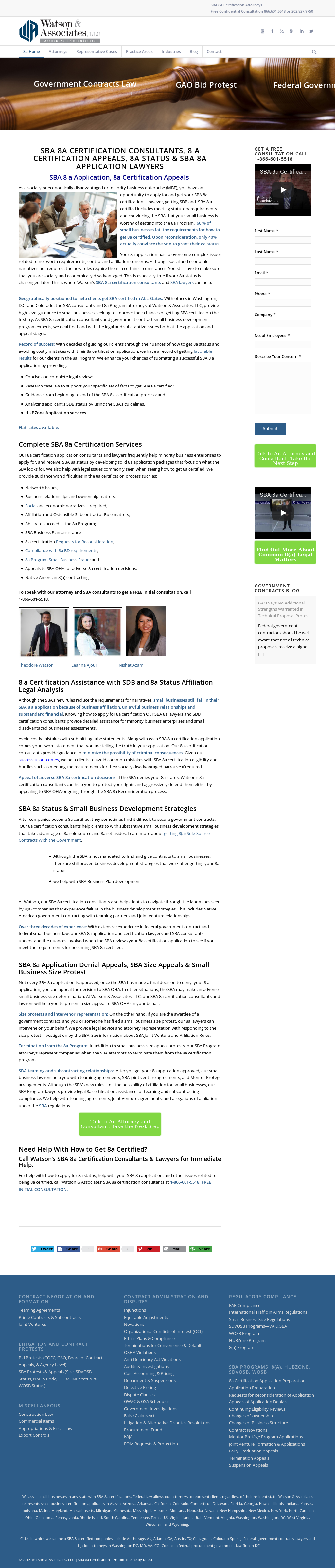 Sba 8a Certification Competitors Revenue And Employees Owler