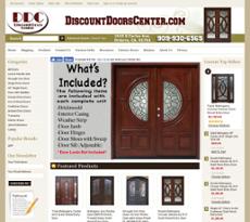 Discount Doors Center Website History