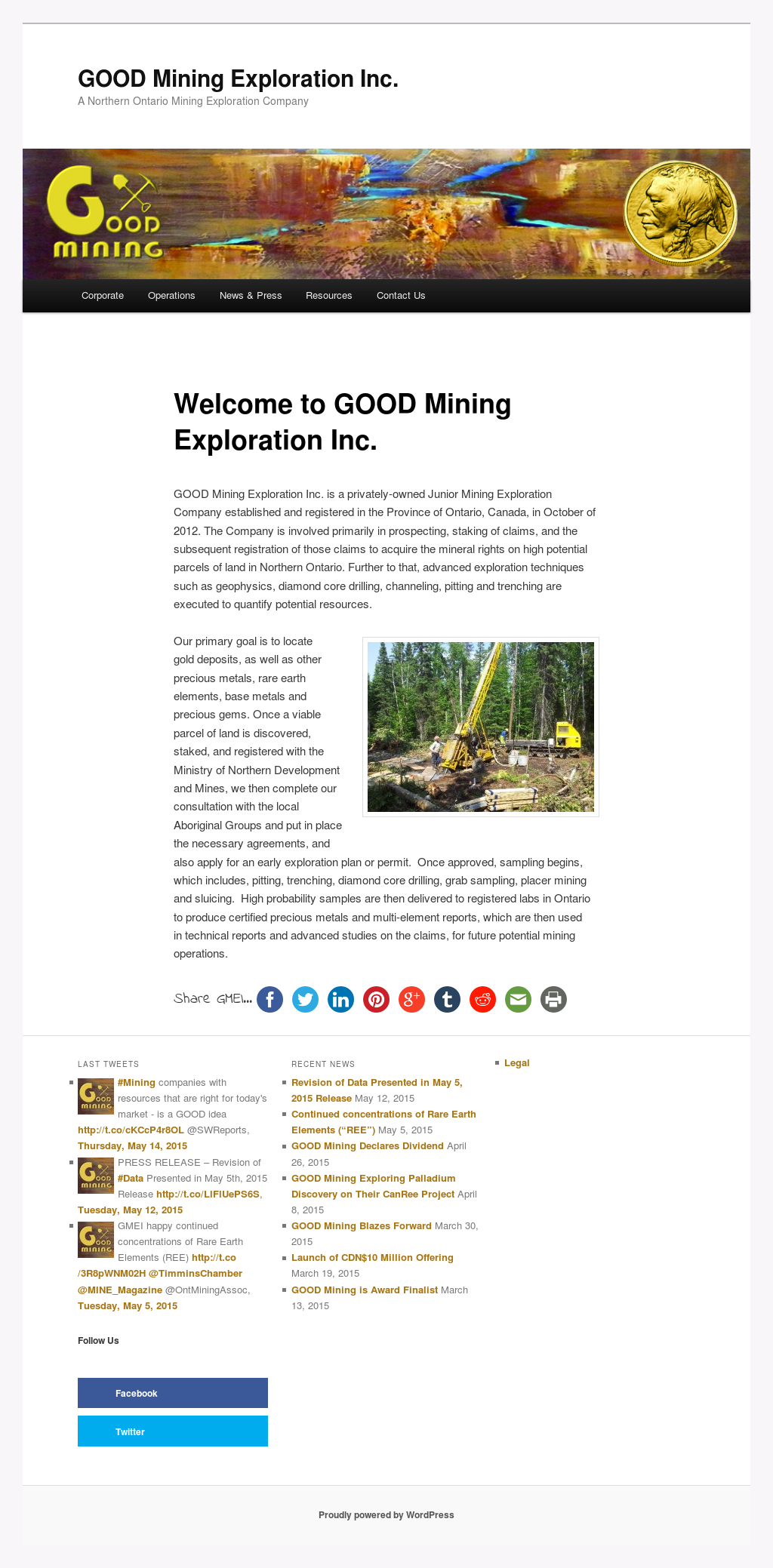 how to start a mining exploration company