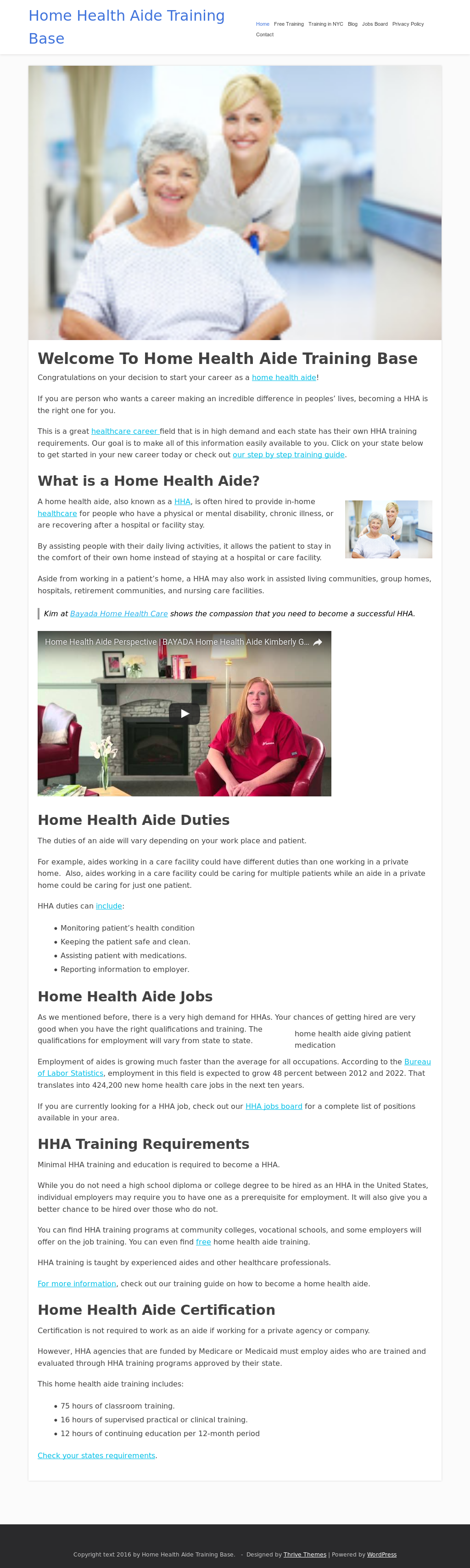 Home Health Aide Training Base Competitors Revenue And Employees