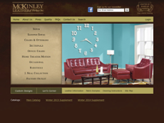 Mc Kinley Leather website history