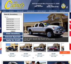 Ted Ciano Used Car Center website history