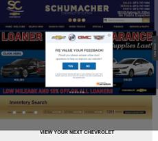 Crane Chevrolet website history