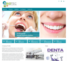 Biotec Dental Implants System Competitors, Revenue and