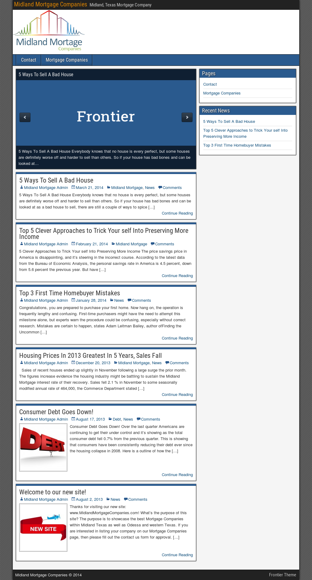 Midland Mortgage Companies Competitors, Revenue and
