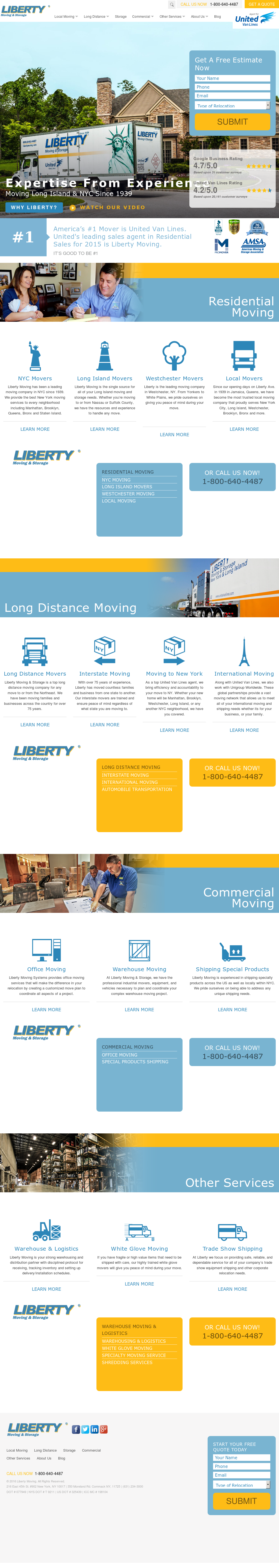 Liberty Moving Compeors Revenue And Employees Owler Company Profile