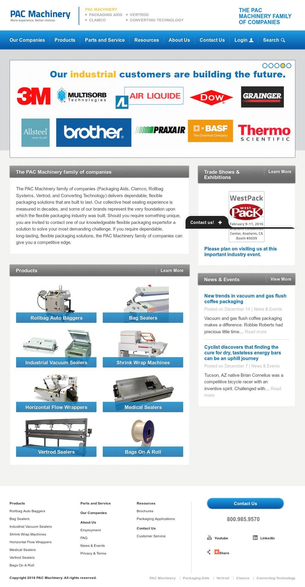 pac machine company