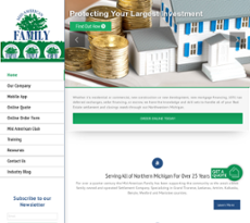Mid-American website history