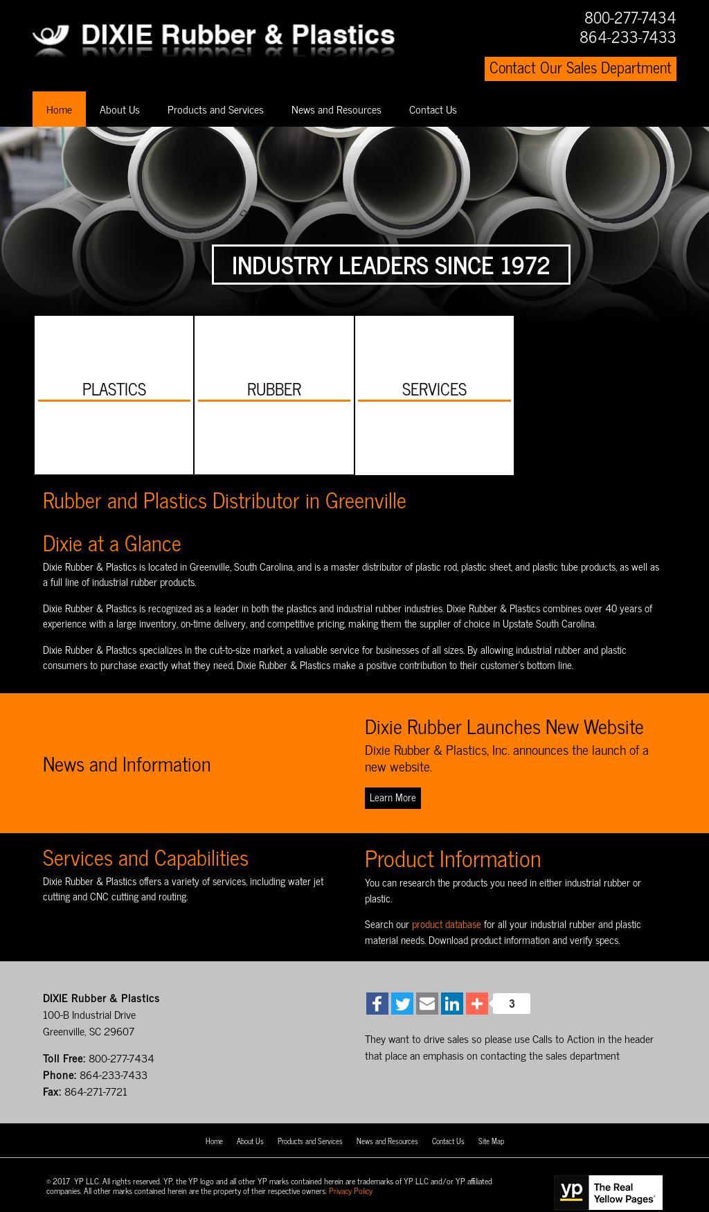 Dixie Rubber Amp Plastics Competitors Revenue And Employees