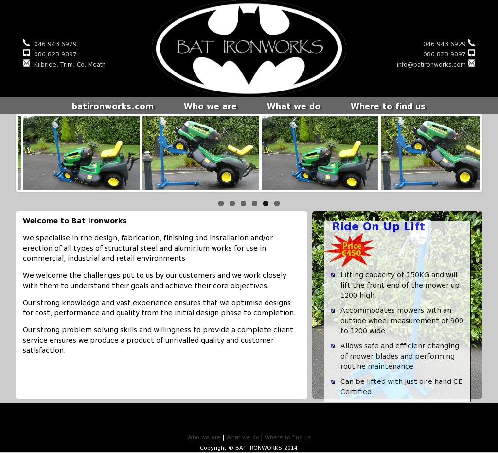 Bat Ironworks Compeors Revenue And