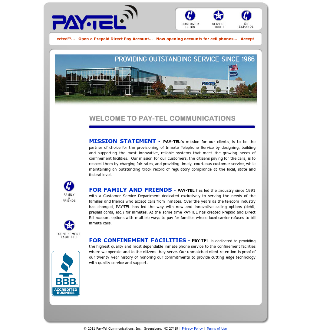 Pay Tel Communications Competitors, Revenue and Employees