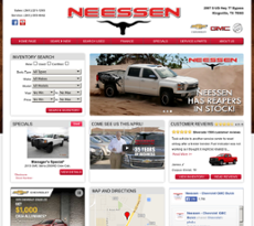 Neessen Automotive website history
