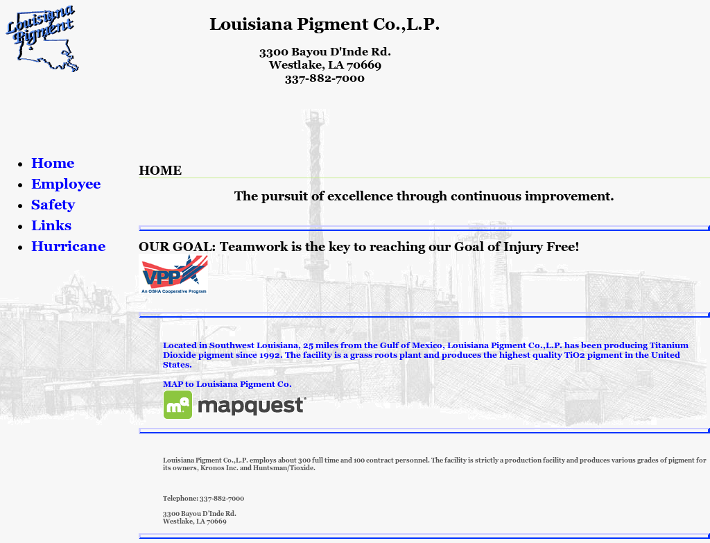 Louisiana Pigment Competitors, Revenue and Employees - Owler Company