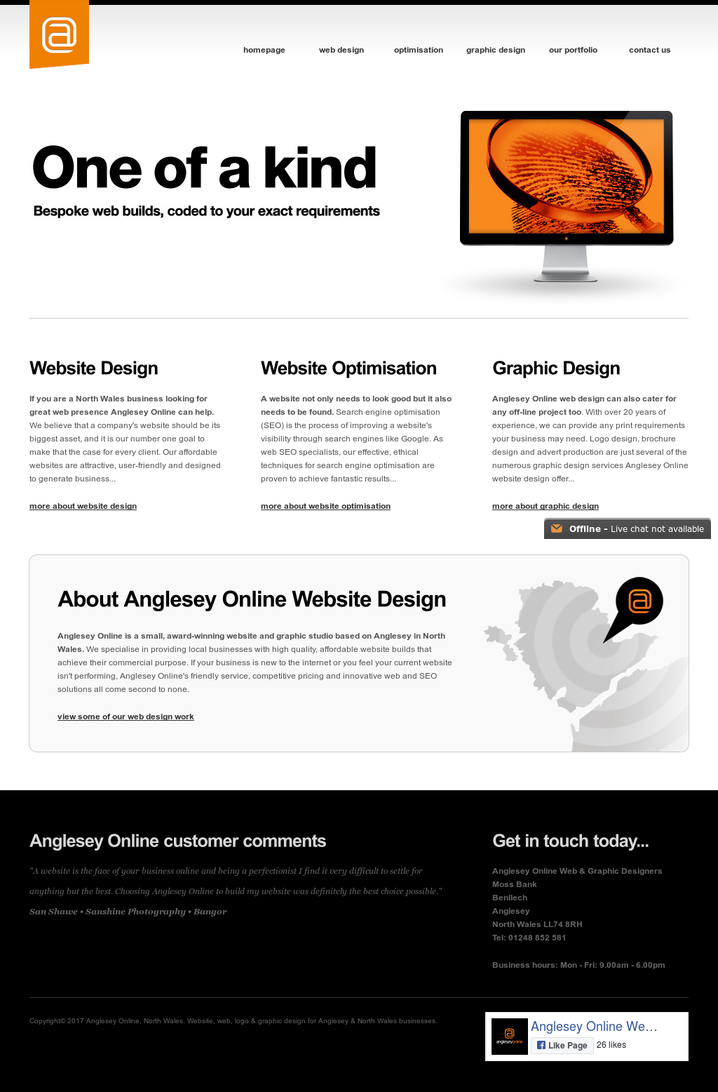 Anglesey Online North Wales Website Web Logo Graphic Design For Anglesey North Wales Businesses Competitors Revenue And Employees Owler Company Profile