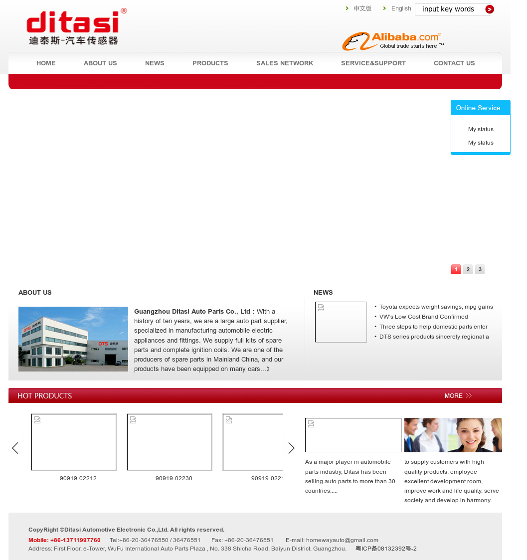 Ditasi Automotive Electronic Competitors, Revenue and