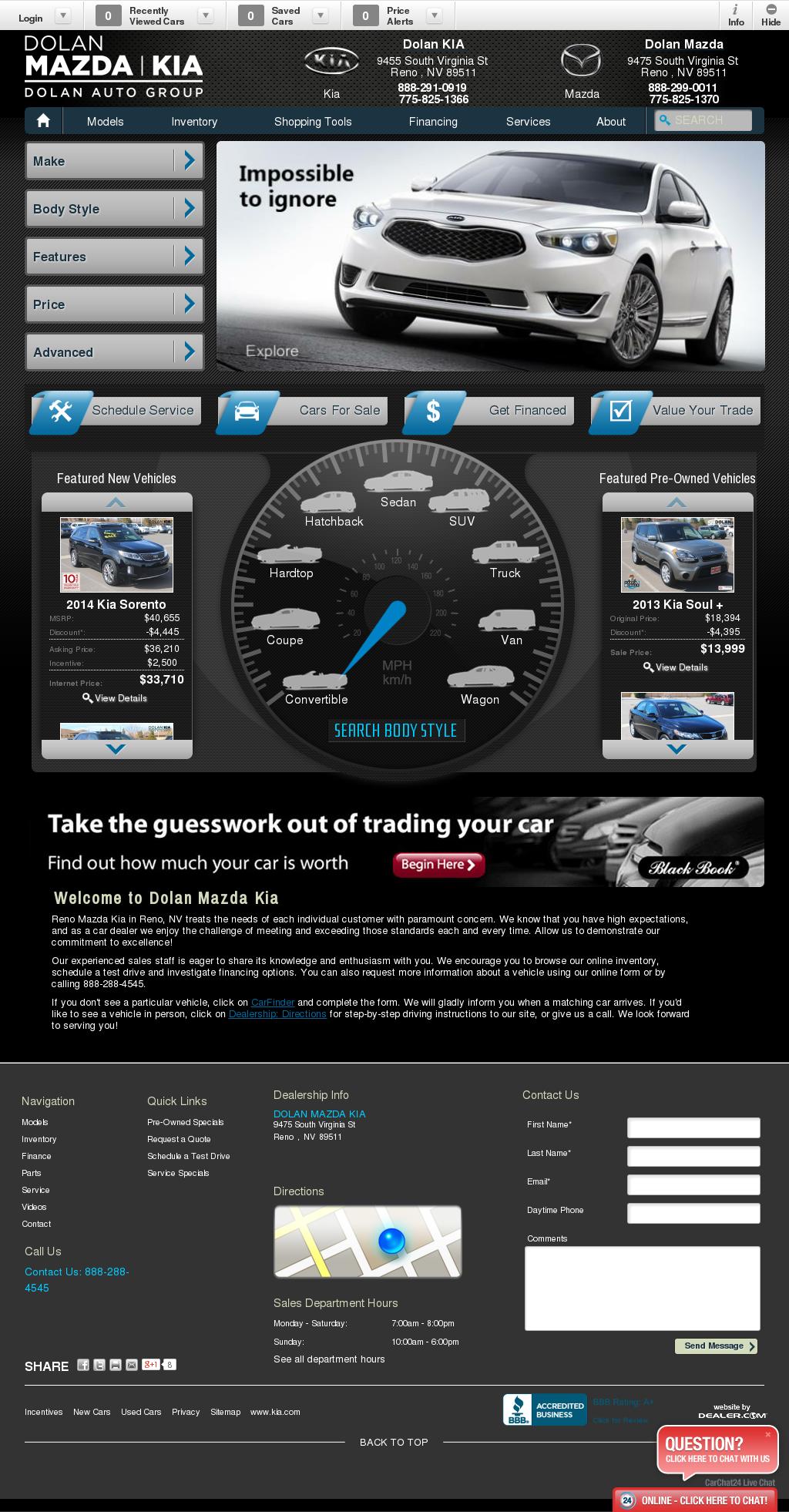Reno Mazda Kia petitors Revenue and Employees Owler pany