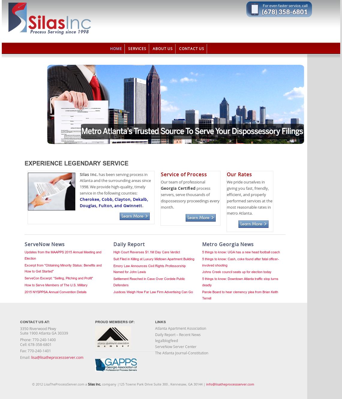 Lisatheprocessserver com A Silas Inc  Company Competitors, Revenue