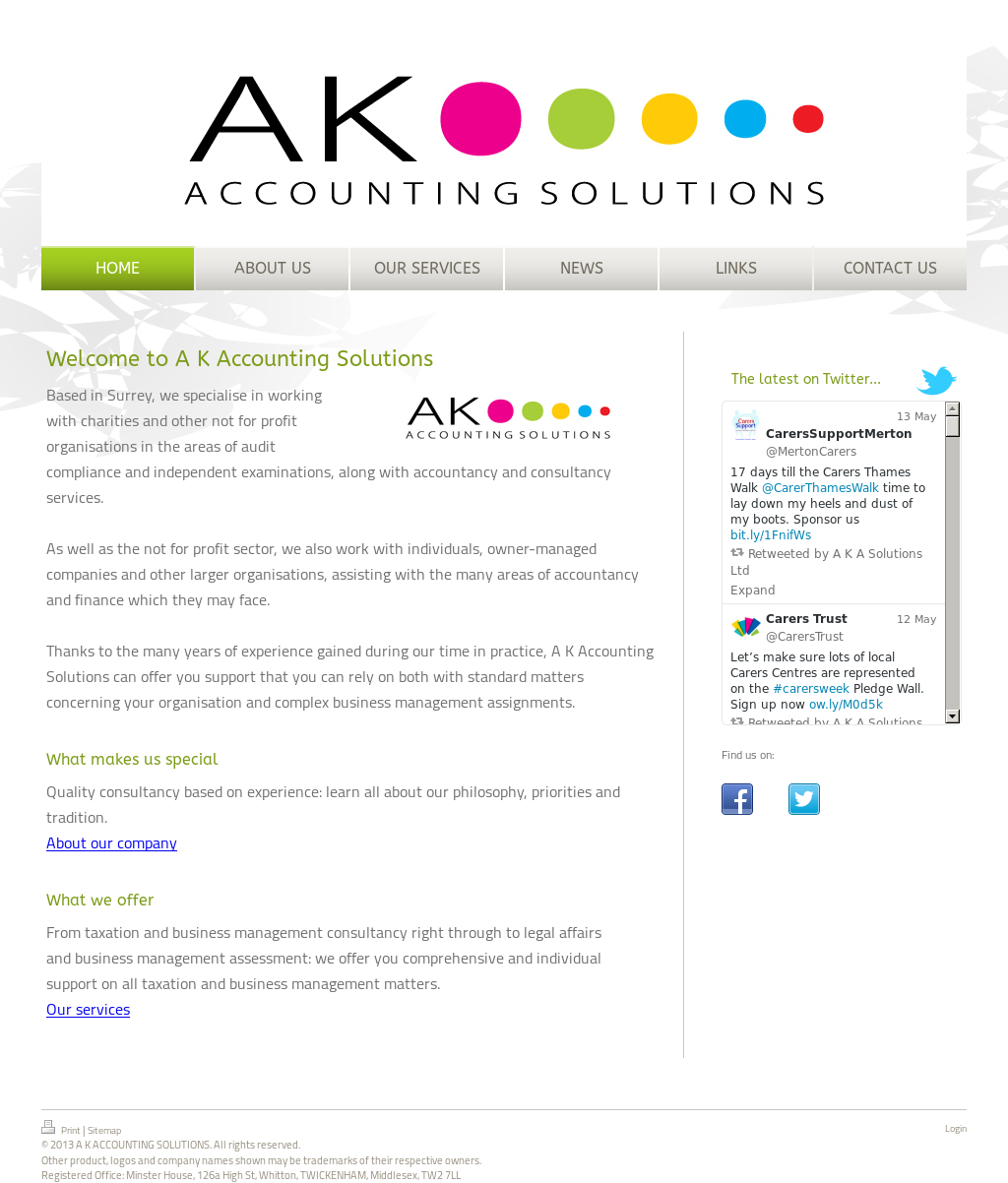 A K Accounting Solutions Competitors, Revenue and Employees